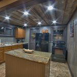 Eagle View Escape rental cabin in Hocking Hills, OH with kitchen
