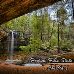 Ash Cave Hocking Hills State Park near Eagle View rental cabins