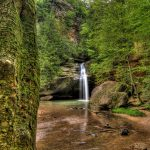 Old Man's Cave Hocking Hills State Park near Eagle View rental cabins