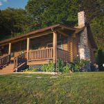 Eagle View Retreat rental cabin in Hocking Hills, OH exterior view front