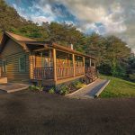 Eagle View Retreat rental cabin in Hocking Hills, OH exterior view