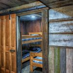 Eagle View Retreat rental cabin in Hocking Hills, OH bedroom with bunk beds