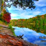 Rose Lake in Hocking Hills State Park near Eagle View rental cabins