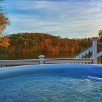 Fall View from the Hot Tub