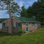 Hocking Hills, OH rental cabin Eagle View Lake House exterior