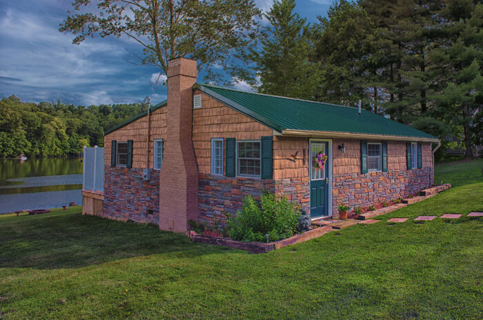 Hocking Hills Cabin Rentals Eagle View Lake House